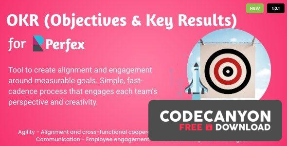 Download OKRs – Objectives and Key Results for Perfex CRM v1.0.2 Free / Nulled