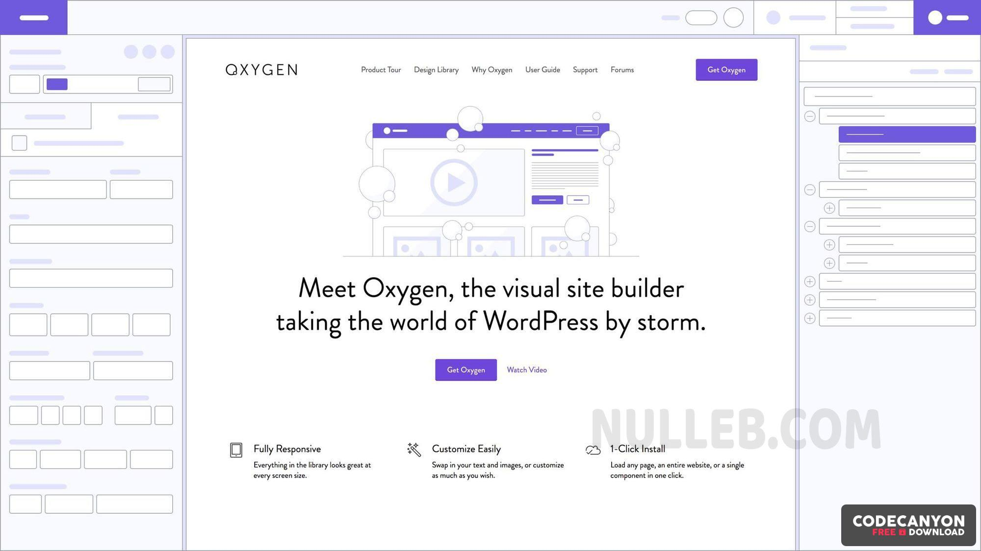 Download Oxygen v3.6.1 – The Ultimate Visual Site Builder for WordPress Free / Nulled