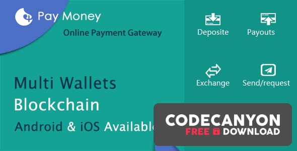 Download PayMoney v2.7 – Secure Online Payment Gateway (Nulled) Free / Nulled