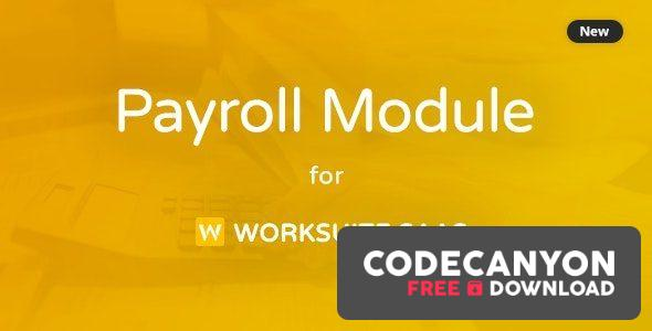 Download Payroll Module For Worksuite SAAS v1.1.1 Free / Nulled