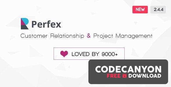 Download Perfex v2.7.3 – Powerful Open Source CRM (+Addons) Free / Nulled