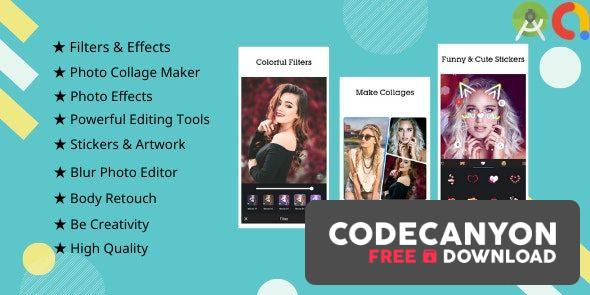 Download Picee v1.0 – Photo Editor, Collage Maker Free / Nulled