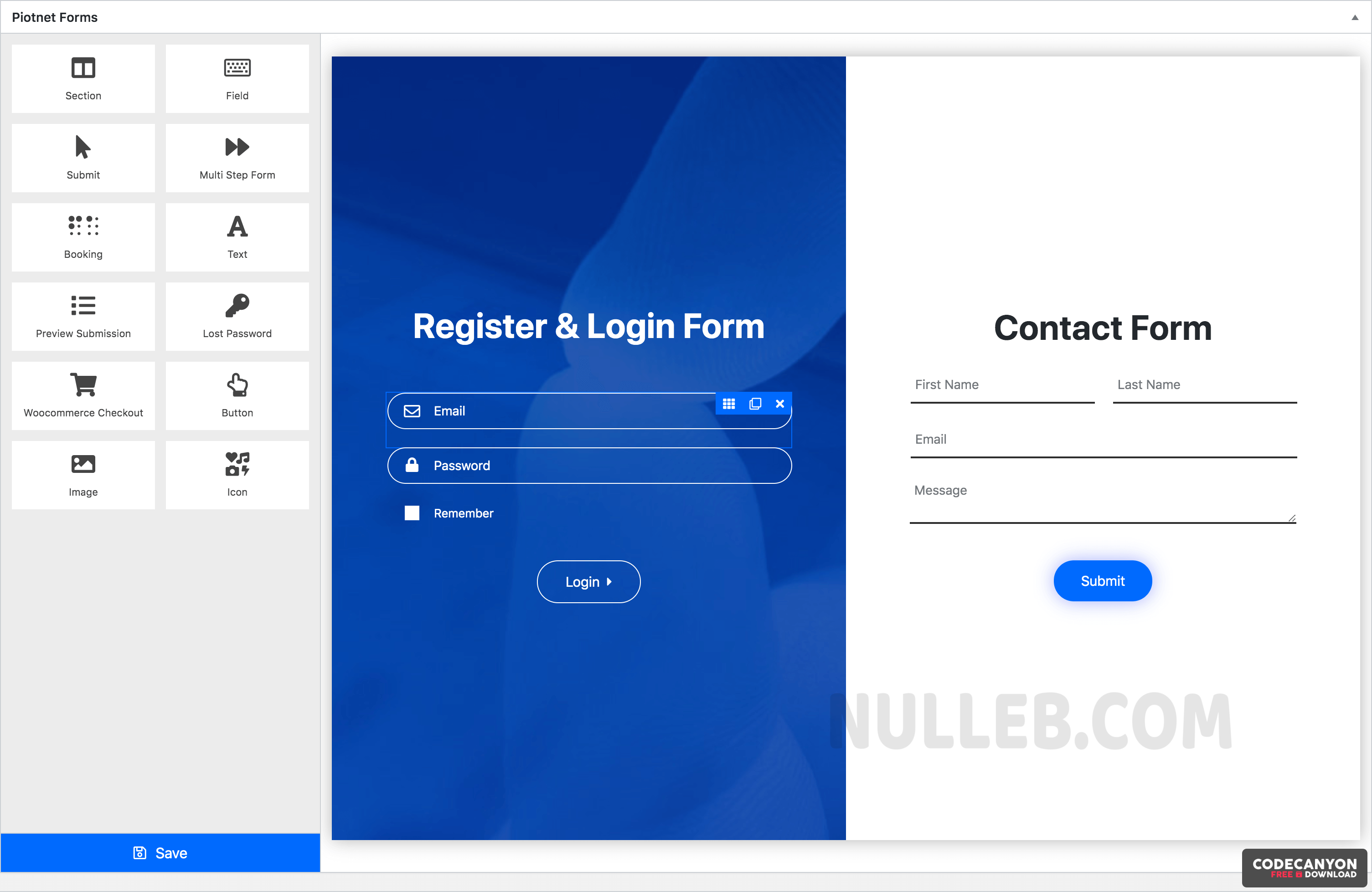 Download Piotnet Forms Pro v1.0.64 – Highly Customizable WordPress Form Builder Free / Nulled
