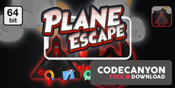 Download Planes Escape 64 bit v1.0 – Android IOS With Admob Free / Nulled