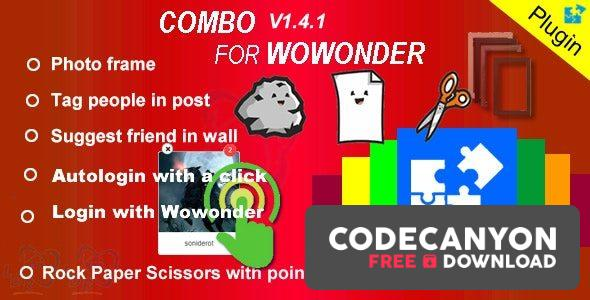 Download Plugin Combo For Wowonder – 05.05.2020 Free / Nulled