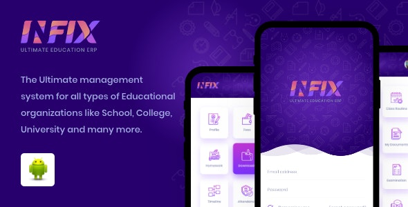 Download Infix v1.4.4 - School Management app Free / Nulled