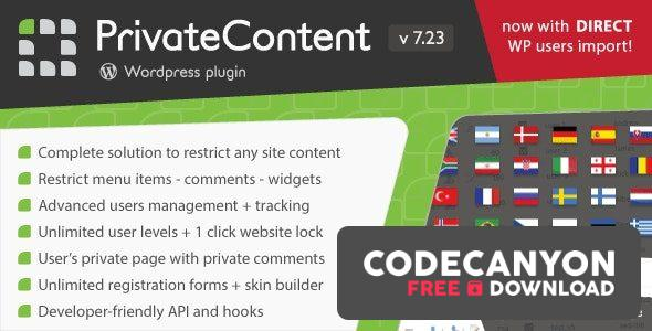 Download PrivateContent v7.321 – Multilevel Content Plugin (+Addons) Free / Nulled