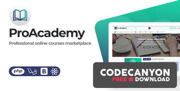 Download Proacademy v2.4 – LMS & Online Courses Marketplace Free / Nulled