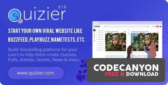Download Quizier v3.5.0 – Multipurpose Viral Application (Nulled) Free / Nulled