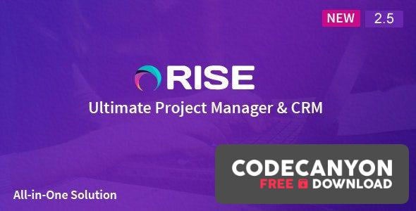 Download RISE 2.6.1 – Ultimate Project Manager (Nulled) Free / Nulled