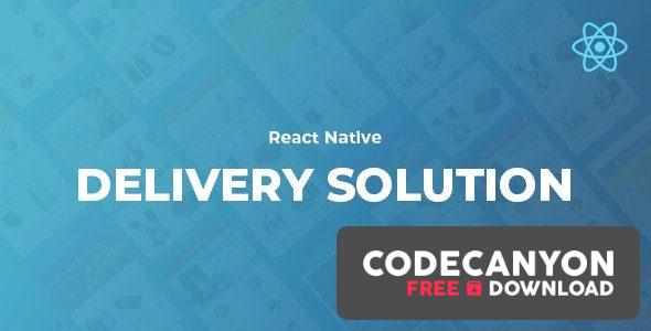 Download React Native Delivery Solution with Advance Website and CMS v1.0 (Nulled) Free / Nulled