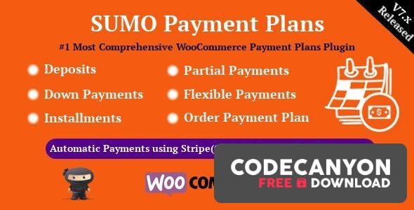 Download SUMO WooCommerce Payment Plans v8.2 – Deposits, Down Payments, Installments, Variable Payments etc Free / Nulled
