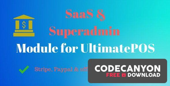 Download SaaS & Superadmin Module for UltimatePOS v2.5 Free / Nulled
