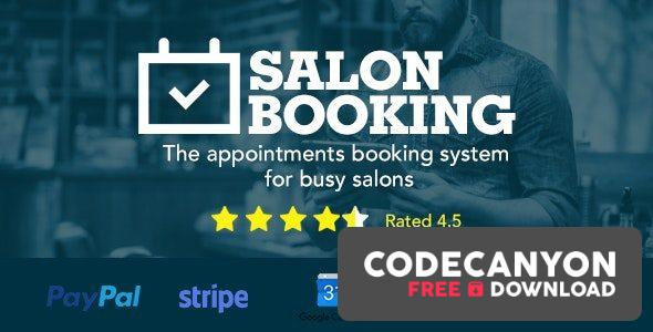 Download Salon Booking WordPress Plugin v3.44.6 Free / Nulled