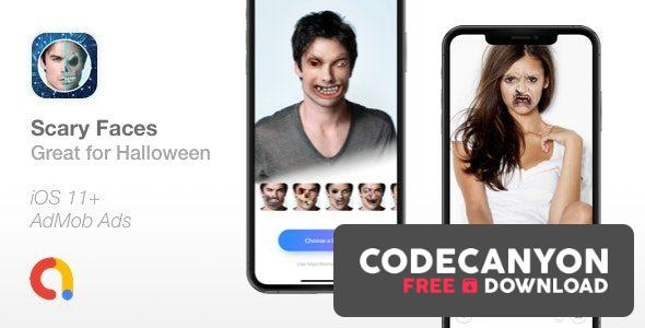 Download Scary Faces v1.0 – Apply Face Morphing filters – Great for Halloween Free / Nulled
