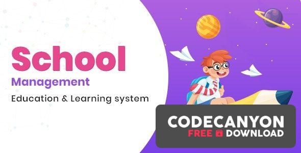 Download School Management v6.9 – Education & Learning Management system for WordPress (Nulled) Free / Nulled