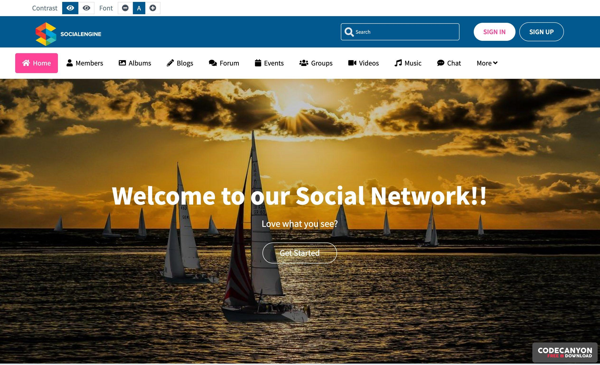 Download SocialEngine PHP v5.0.1+ All plugin (Nulled) Free / Nulled