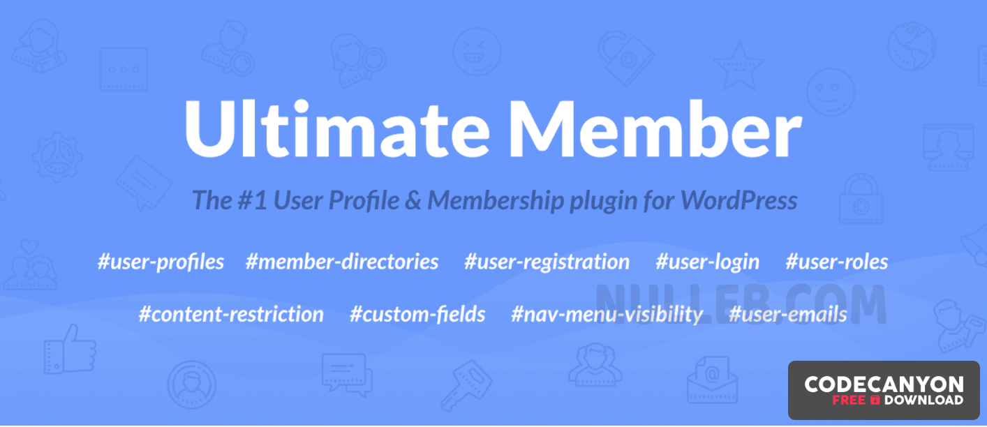 Download Ultimate Member v2.1.13 + (Extensions Pass) Free / Nulled