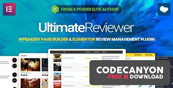 Download Ultimate Reviewer v2.8.1 – Elementor & WPBakery Page Builder Addon Free / Nulled