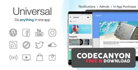 Download Universal v4.4.6 – Full Multi-Purpose Android App Free / Nulled