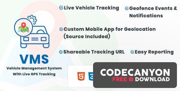 Download Vehicle Management System With Live GPS Tracking v1.3 Free / Nulled