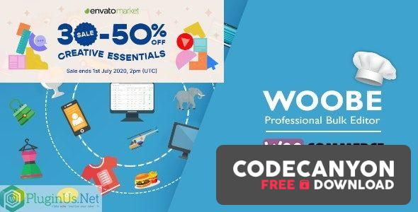 Download WOOBE v2.0.6.3 – WooCommerce Bulk Editor and Products Manager Professional Free / Nulled
