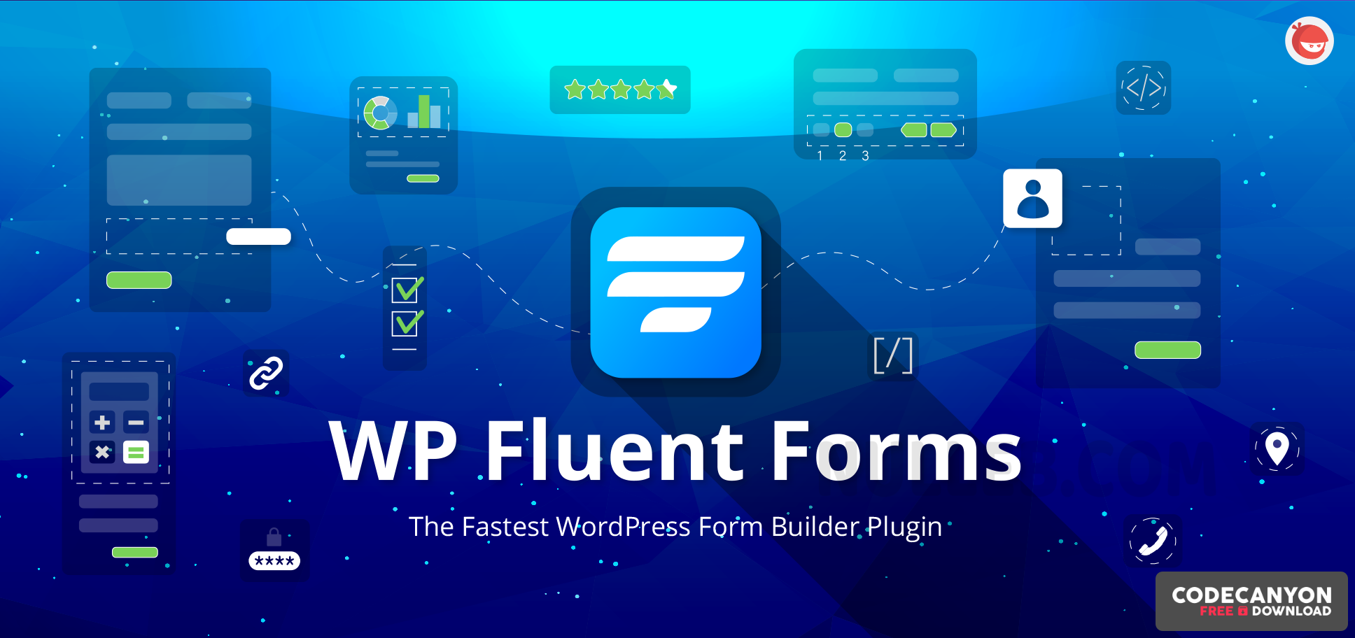 Download WP Fluent Forms Pro Add-On v3.6.62 (Nulled) Free / Nulled