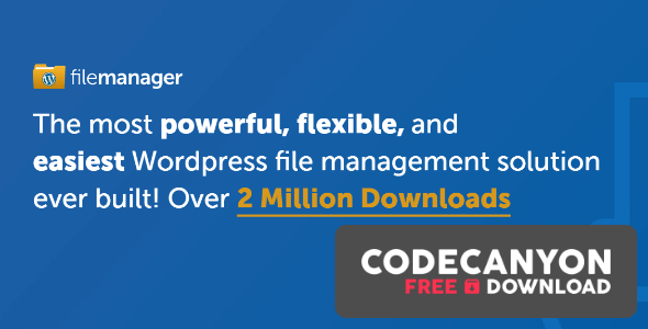 Download WP File Manager PRO v8.0 – Manage your WP files (Nulled) Free / Nulled