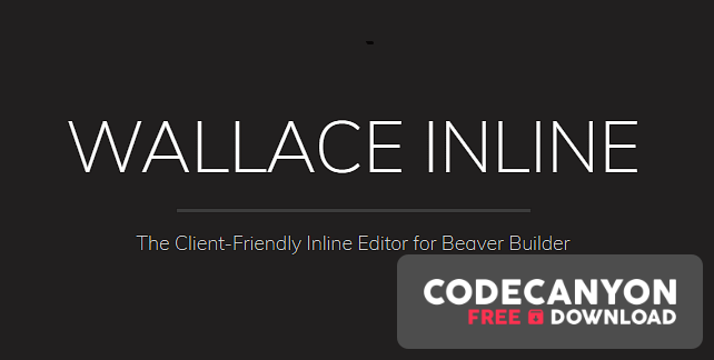 Download Wallace Inline v2.2.17 – Client-Friendly Editor for WordPress Free / Nulled