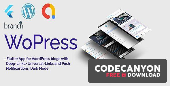 Download WoPress v1.0 – Flutter App For WordPress News Sites and Blogs Free / Nulled