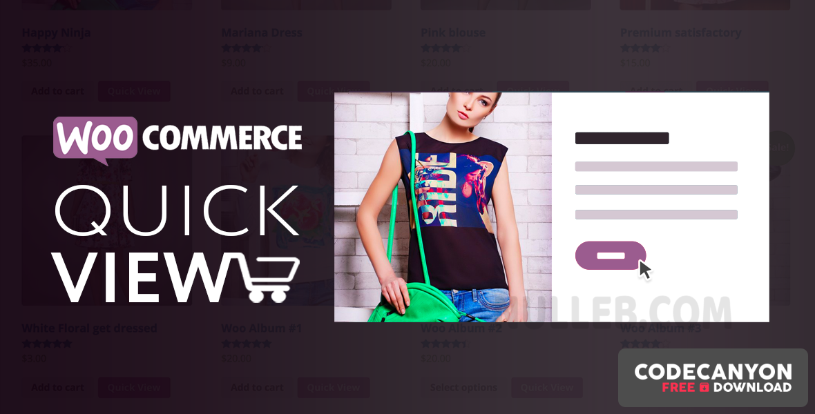 Download Woo Quick View v1.7.3 (Nulled) Free / Nulled