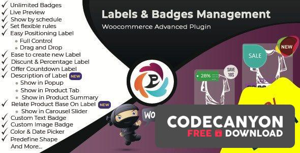 Download WooCommerce Advance Product Label and Badge Pro v1.8.2 Free / Nulled