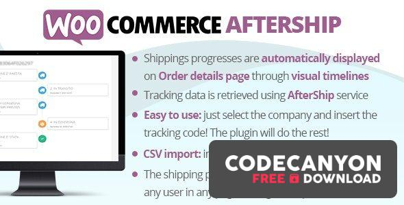 Download WooCommerce AfterShip v7.6 Free / Nulled