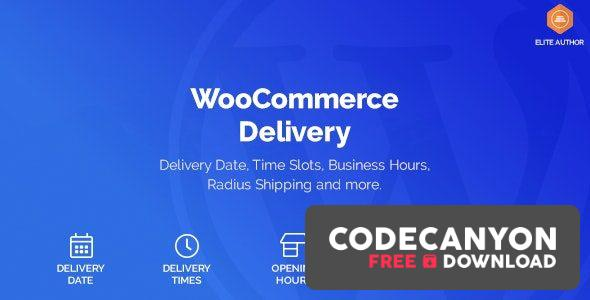 Download WooCommerce Delivery v1.1.15 – Delivery Date & Time Slots Free / Nulled