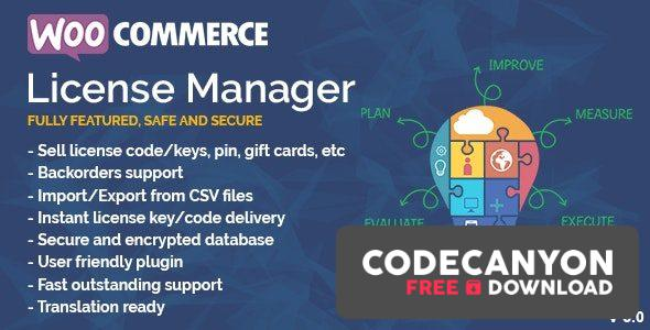 Download WooCommerce License Manager v4.3.3 (Nulled) Free / Nulled