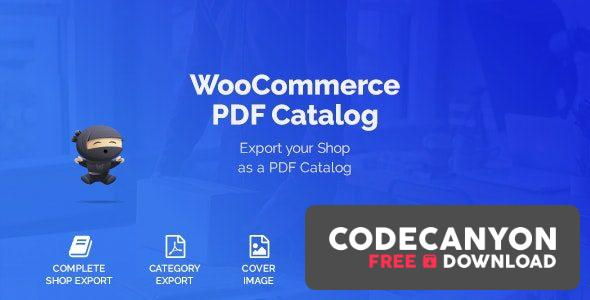 Download WooCommerce PDF Catalog v1.14.3 Free / Nulled