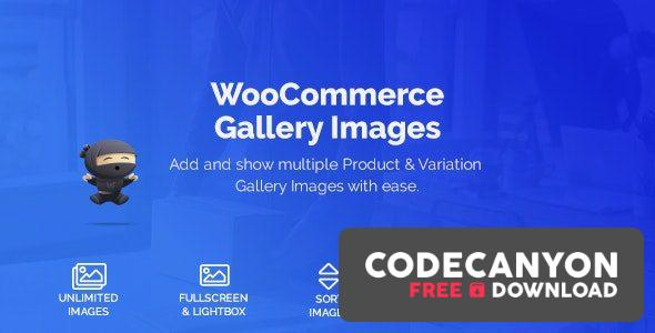 Download WooCommerce Product & Variation Gallery Images v1.0.6 Free / Nulled