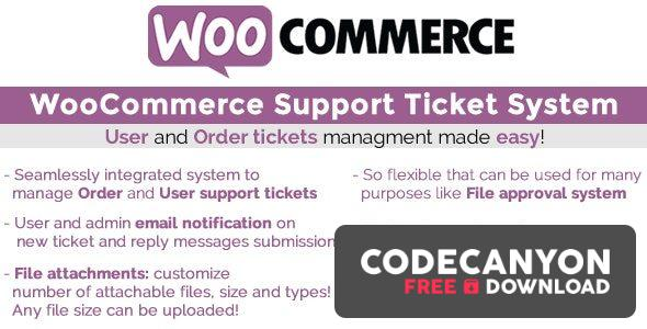 Download WooCommerce Support Ticket System v13.2 Free / Nulled