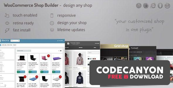 Download WooCommerce Shop Page Builder v2.17.2 – Create any shop grid / table with advanced filters Free / Nulled