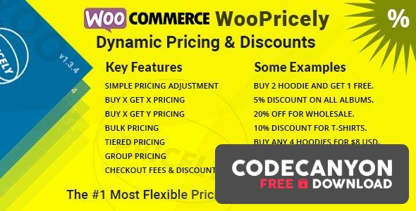 Download WooPricely v1.3.5 – Dynamic Pricing & Discounts Free / Nulled