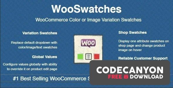 Download WooSwatches v3.1.2 – WooCommerce Color or Image Variation Swatches Free / Nulled