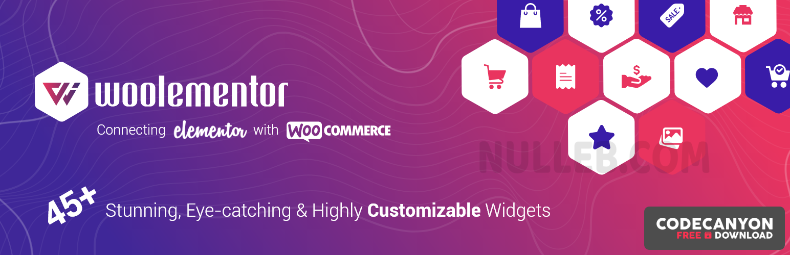Download Woolementor Pro v2.0.3 – Connecting Elementor with WooCommerce (Nulled) Free / Nulled