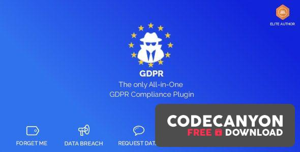 Download WordPress GDPR & CCPA v1.9.15 Free / Nulled