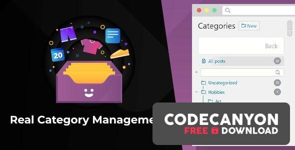 Download WordPress Real Category Management v3.4.5 – Content Management in Category Folders with WooCommerce Support (Nulled) Free / Nulled