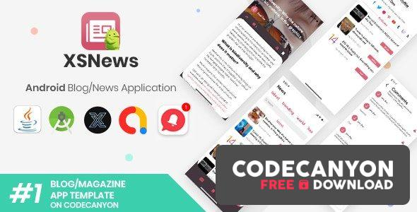Download XSNews (19 November 20) –  Android News/Blog Multipurpose Application [XServer] Free / Nulled