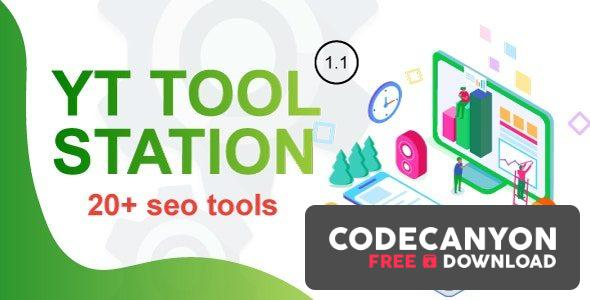 Download YT Tool Station PHP Script With Admin Panel v1.1 Free / Nulled