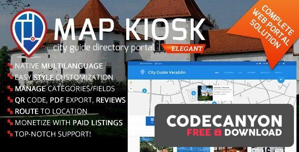 Download City Guide Directory Portal v1.6.6 (Nulled) Free / Nulled