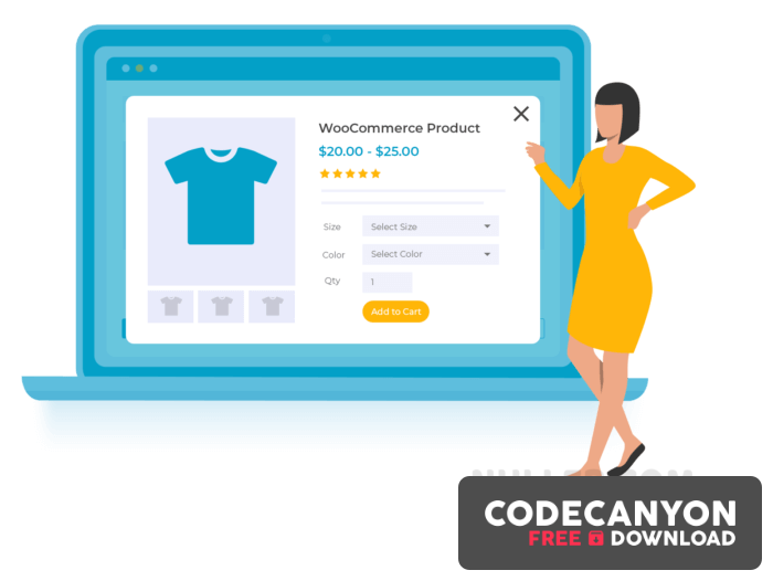 Download WooCommerce Quick View Pro v1.5.3 Free / Nulled