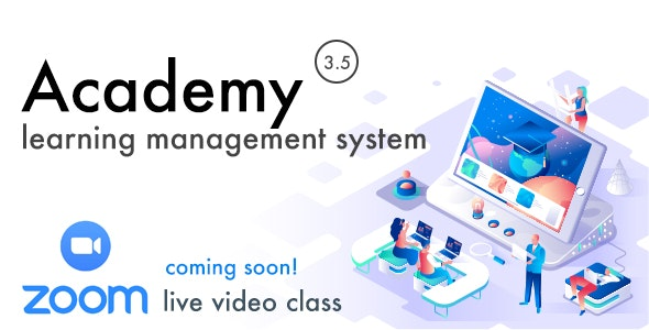 Download Academy v3.5 - Learning Management System - nulled Free / Nulled