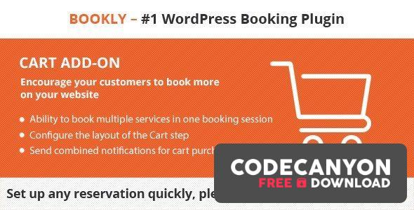 Download Bookly Cart (Add-on) v2.2 Free / Nulled